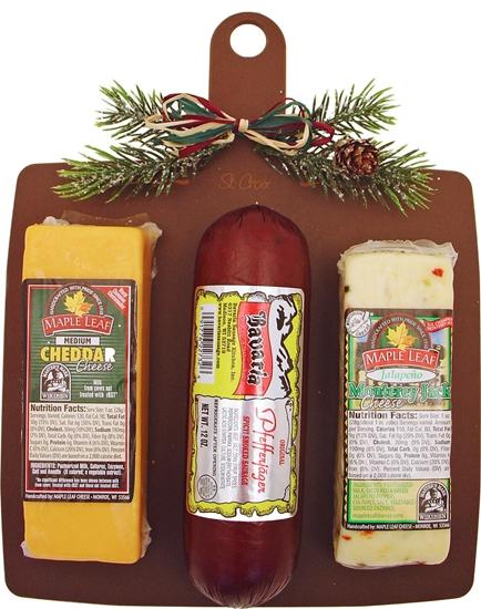 Picture of Wisconsin Cheese & Sausage Board