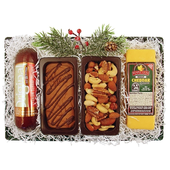 Picture of Gourmet Wisconsin Snacks Gift Tray
