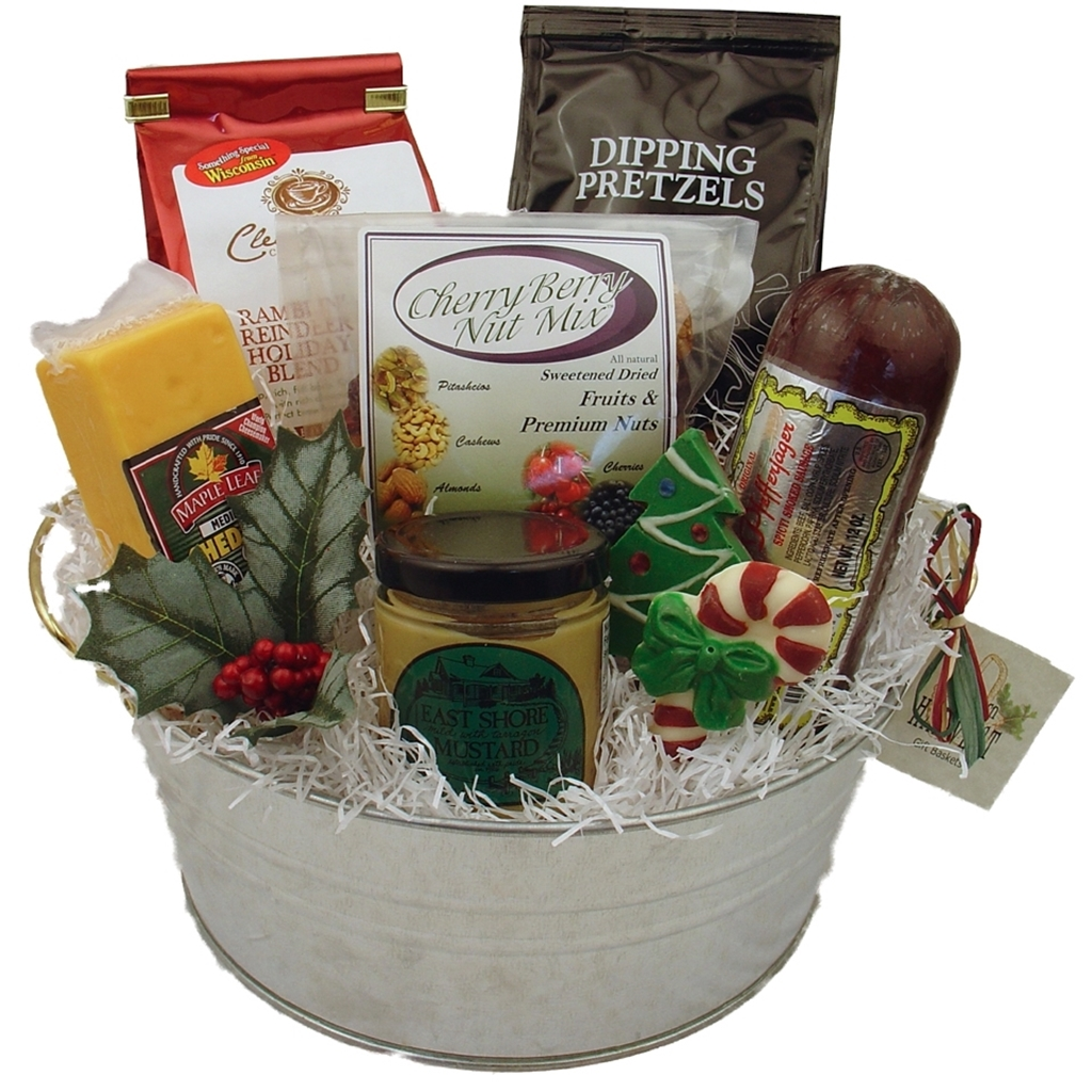 Picture of Wisconsin Cheese & Sausage Gift Bucket