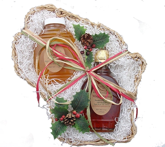 Picture of Wisconsin Holiday Maple & Honey Gift