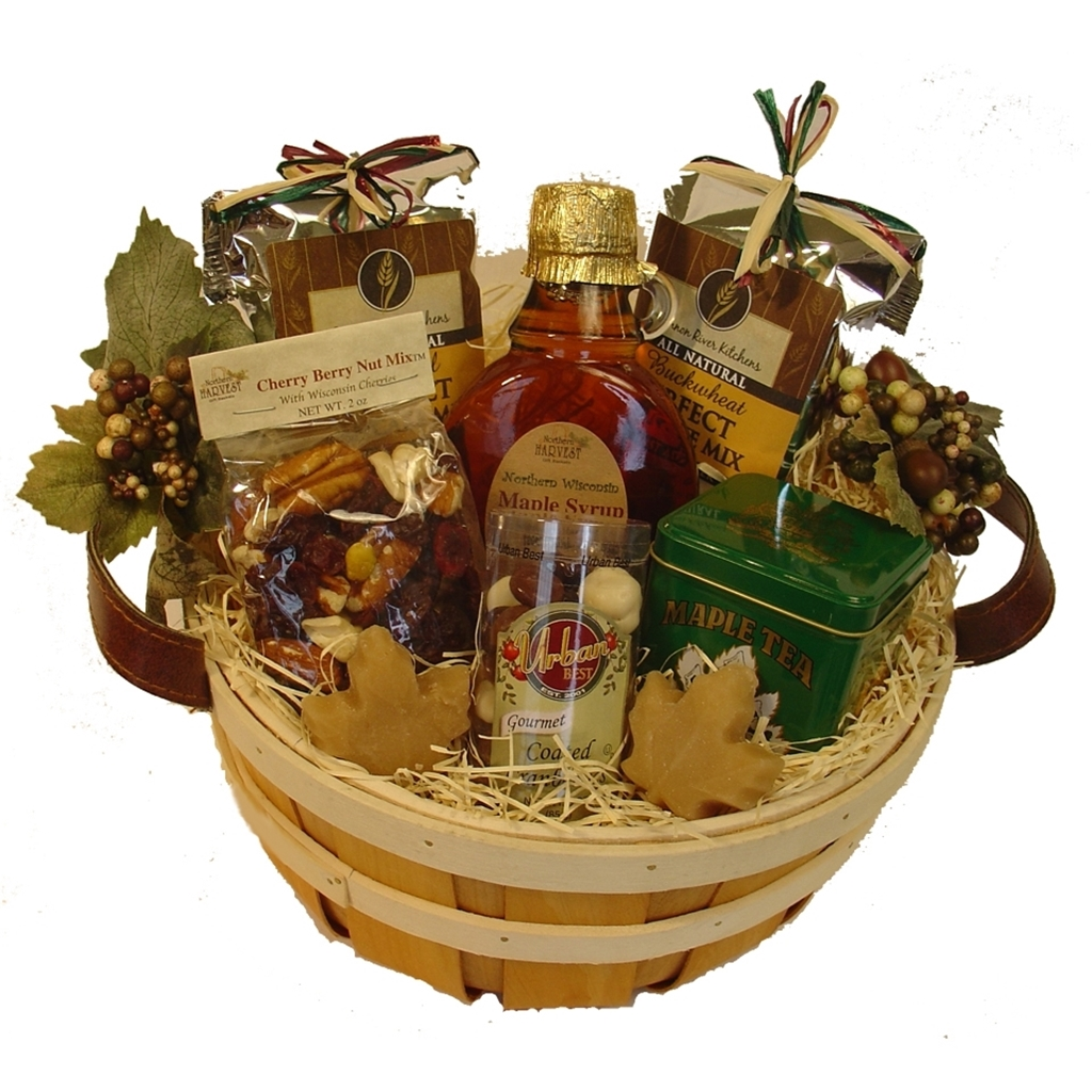 Picture of Sweet & Soothing Maple Gift Basket