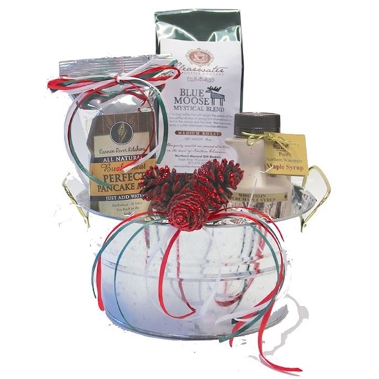 Picture of Christmas Morning Breakfast Gift Bucket