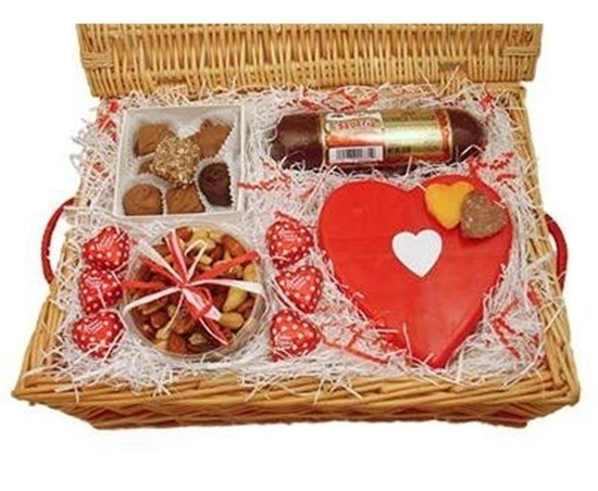Picture of Valentine Delight Gourmet Gift Basket