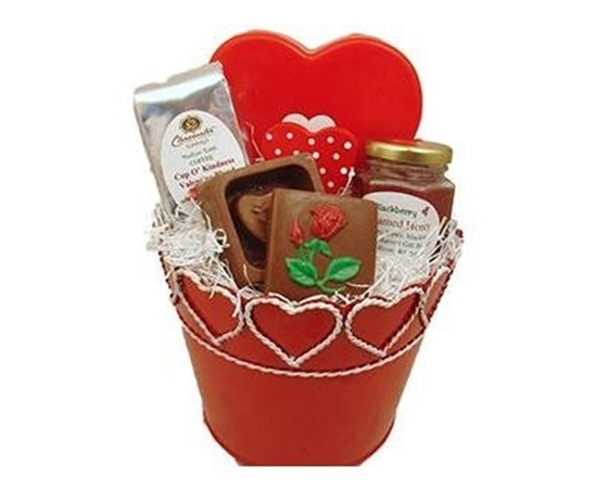 Picture of Wisconsin Valentine Treats Gift Basket