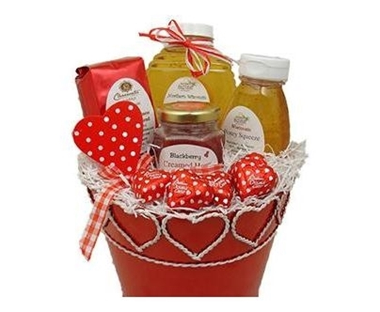 Picture of Honey of a Valentine Gift Basket