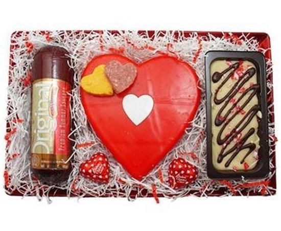 Picture of Wisconsin Valentine Snacks Gift Tray