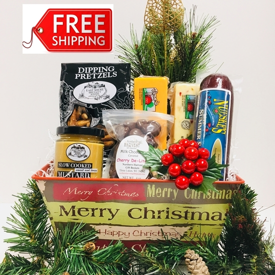 Picture of Merry Christmas Tin